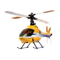 Радиоуправляемая модель вертолета E-sky Honey Bee King 4 Характеристики: Длина: 550 мм Диаметр ротора: 600 мм Диаметр хвостового пропеллера:130мм Вес: 550 гр Аккумулятор: 11,1V 1500mAh 20С Li-po Передатчик: стандартный, 6-канальный  Приемник: 6 каналов  Двигатель: бесколлекторный эл.двигатель 400 серии  В комплект поставки входит: - собранная модель вертолета E-Sky Honey Bee King 4 (готовая к полету) - пульт управления 6 каналов  - аккумулятор Li-polymer 11,1V 1500mAh - зарядное устройство  - комплект проводов для подключения  к автомобильному аккумулятору 12В - сетевой адаптер 220-12 В - гироскоп(установленный) - 4 батарейки типа АА  для пульта управления - инструкция (англ)