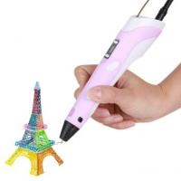 3D ручка Myriwell (розовая) 2-е поколение