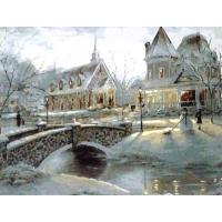 Зимняя сказка. Картина по номерам 40х50