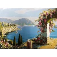 Вид из окна на море. Картина по номерам 40х50