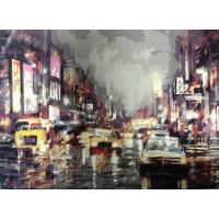 Город. Картина по номерам 40х50