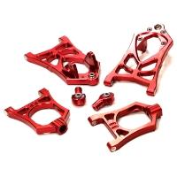 Комплект передних рычагов (красный) HPI Baja 5B, 5B2.0, 5T, 5SC