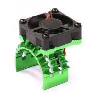 Радиатор с куллером (зеленый) Traxxas 1/10 Stampede 4X4 & Slash 4X4