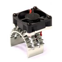 Радиатор с куллером (серебристый) Traxxas 1/10 Stampede 4X4 & Slash 4X4