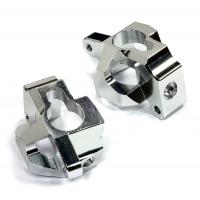 Кастер блоки 2шт (серебро) HPI 1/10 Bullet MT & Bullet ST