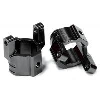 Кастер блоки 2шт (черные) для Axial SCX-10, Honcho, Dingo