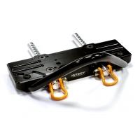Передний бампер (черный) для Axial SCX-10, Dingo, Honcho