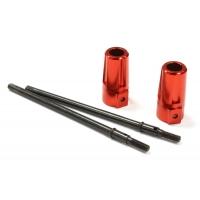 Полуоси усиленные (красные) для Axial SCX-10