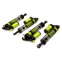 Комплект амортизаторов (зеленый) HPI 1/10 Bullet MT & Bullet ST