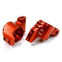 Задние кулаки 2-град (красные) для HPI 1/10 Sprint 2 On-Road