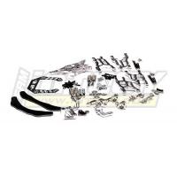 Комплект конверсии (серебро) для Traxxas 1/10 Electric Slash 2WD