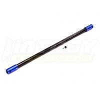 Центральный карданный вал (синий) для Traxxas 1/10 Slash 4x4 non-LCG (235мм)