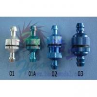Топливный фильтр 4х9.5х25мм (синий)