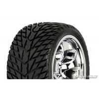 "Колеса в сборе трак 1/10 перед - Road Rage M2 2.8"" (30 Series) (2шт) хром"