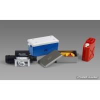 Комплект аксессуаров №1 Rock Crawler (Холодильник,лебедка, канистра, трос)