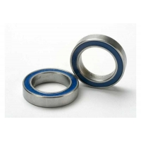 Ball bearings, blue rubber sealed (12x18x4mm) (2)