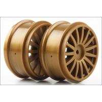 Wheel (15-Spoke/Gold/2pcs/DRX)