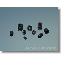 Винт M4x4мм, без головки (imbus) шестигранный шлиц, сталь, MPJet, 10шт.