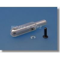 Вилка дюраль, длина 23, паз 2, шплинт металл O1.6мм, М2.5, левая резьба, MPJet, 2шт.