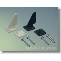 Кабанчик малый короткий, пластик, отверстие O1.3мм, черный, MPJet, 2шт.