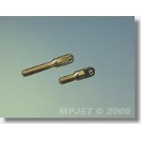 Натяжитель троса короткий, латунь, M3, MPJet, 2шт.