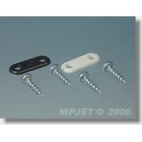 Перемычка крепления шасси средняя, нейлон, черный, MPJet, 4шт.