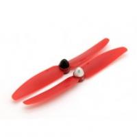 Пропеллер Gemfan 5x3 красный (нормал+ обрат) самозатягивающийся