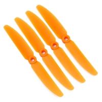 Пропеллер Gemfan 5x4 оранж (нормал 2шт, обрат 2шт)