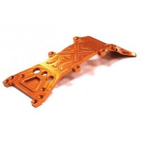 Защита днища передняя (оранж) для Traxxas T-Maxx, E-Maxx