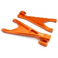 Рычаги задние нижние (оранж) для Traxxas 1/10 E-Revo