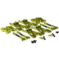 Полный комплект подвески (зелен) для HPI Savage XL & Flux
