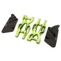 Нижние задние рычаги (зелен) для HPI 1/10 Bullet MT & Bullet ST