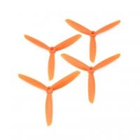 Пропеллер 3-х лопаст Gemfan 5x4.5 оранж