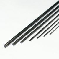 Карбон (уголь+стекло) пруток, 2ммх1000мм, черный, 1шт.