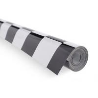 Пленка для обтяжки моделей - клетка бело-черная