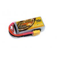 Аккумулятор LiPo Fullymax 14.8V 850мАч 70C