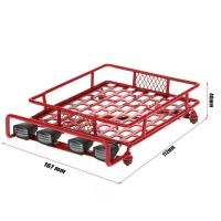 Багажник на крышу с подсветкой LED (красный)