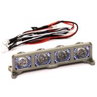 Подсветка LED (4) на крышу (оруж-син) для моделей 1/10, 1/8, 1/5