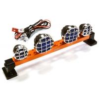 Подсветка LED (4) на крышу (оранж) металл