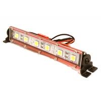 Подсветка LED на крышу (красная) 123х17х21мм