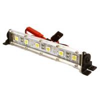 Подсветка LED на крышу (серебристая) 123х17х21мм