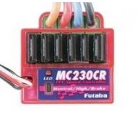 Регулятор скорости Futaba MC330CR для коллекторных двигателей