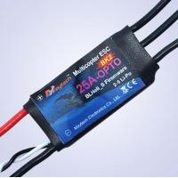 Регулятор оборотов Maytech Blackfire 25A-OPTO BLHeli_S