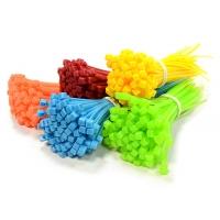 Хомуты пластиковые 100шт 10см (красный)