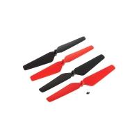 Комплект пропеллеров (красные) для Dromida Ominus