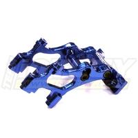 Крепление заднего спойлера (синее) для 1/16 Traxxas E-Revo VXL