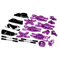 Комплект подвески (фиолет) HPI 1/10 Bullet MT & Bullet ST