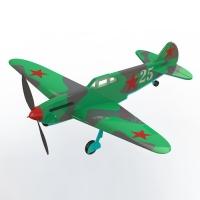 """Резиномоторная модель """"ЛаГГ-3"""""""