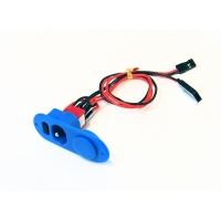 Выключатель бортового питания (синий)