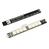 LED панель MATEKSYS RGB ARM 16V, 65*7mm 2шт.